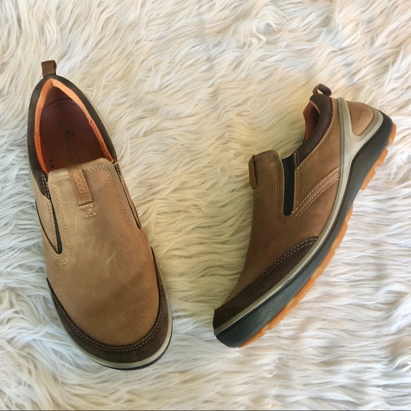 Ecco | Nubuck Leather Loafers